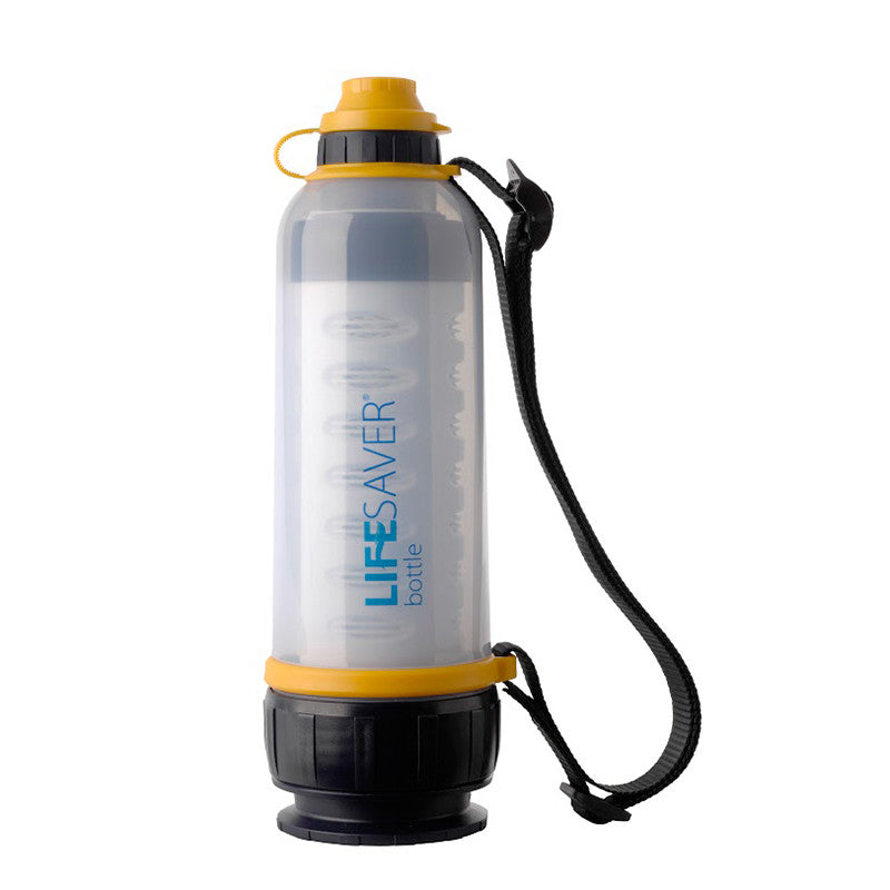 water filter bottle. Interesting Filter Lifesaver Water Bottle 4000UF With Strap To Filter