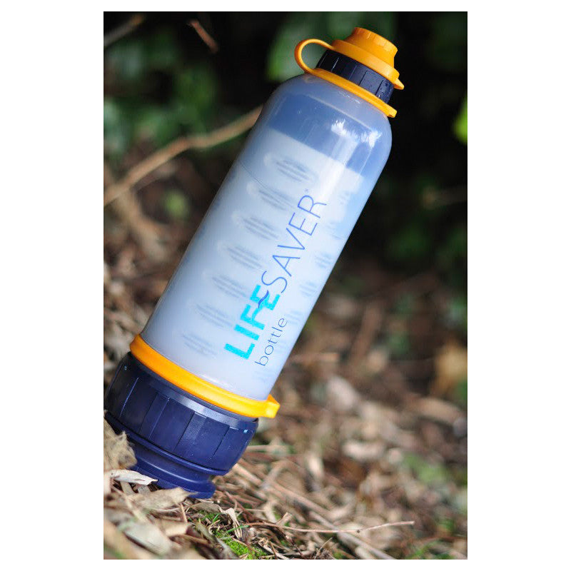 Lifesaver Water Bottle 4000UF With Strap