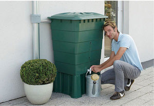 Graf Mondo 137 Gallon Rain Barrel with Pump and Filter - Main View