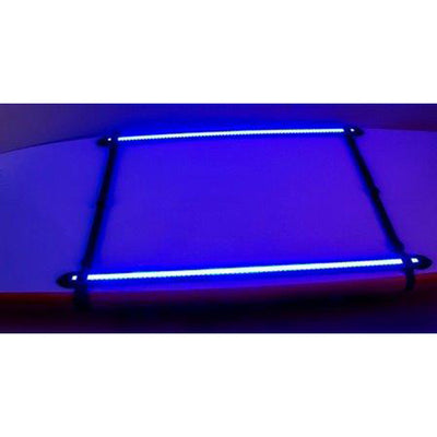NOCQUA Pro Series Spectrum – Color LED Lighting System for Kayaks & Stand-Up Paddleboards - Blue View