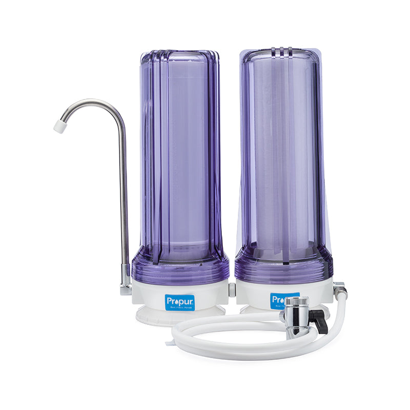Propur® Dual Countertop Water Filtration System - Main View