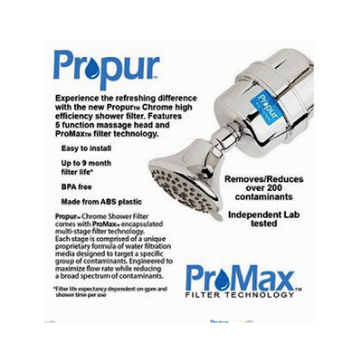 Replacement Filter for Propur™ Shower Filters with ProMax™