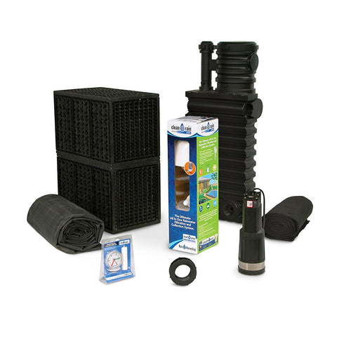Atlantic Water Gardens Rain Harvesting Kit RHKIT500DIV