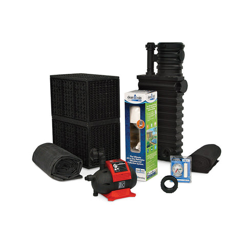 Atlantic Water Gardens Rain Harvesting Kit RHKIT1000EBS