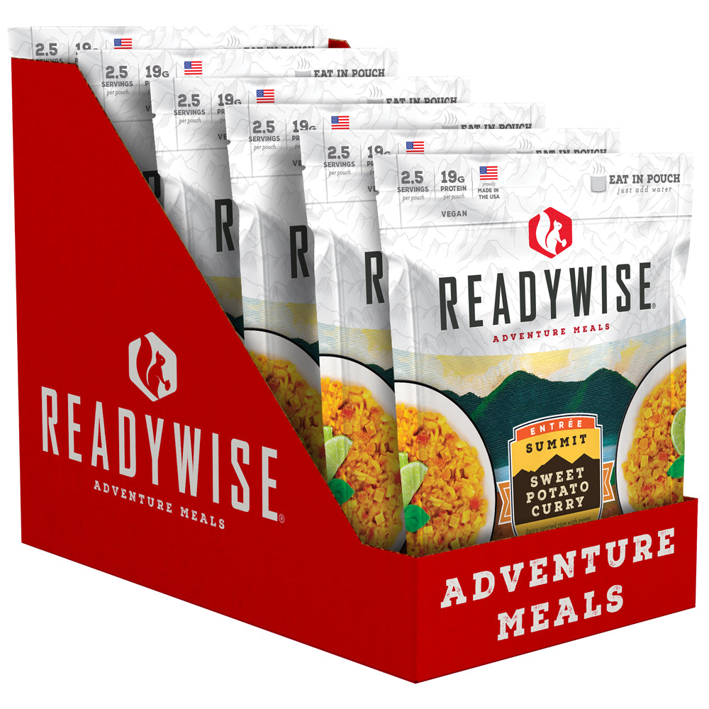 ReadyWise™ Summit Sweet Potato Curry - 6 Pack