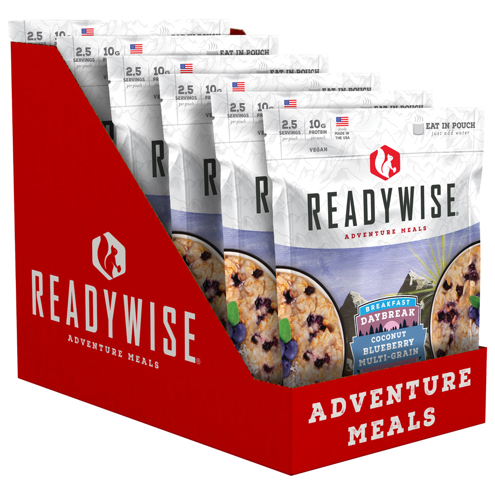 ReadyWise™ Daybreak Coconut Blueberry Multi-Grain - 6 Pack