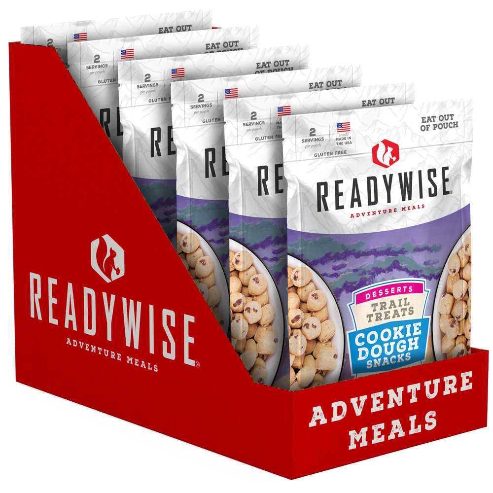 ReadyWise™ Trail Treats Cookie Dough - 6 Pack