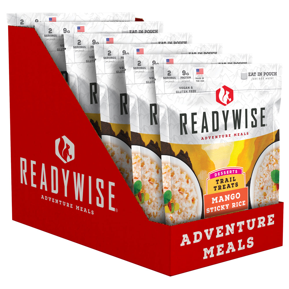 ReadyWise™  Trail Treats Mango Sticky Rice - 6 Pack