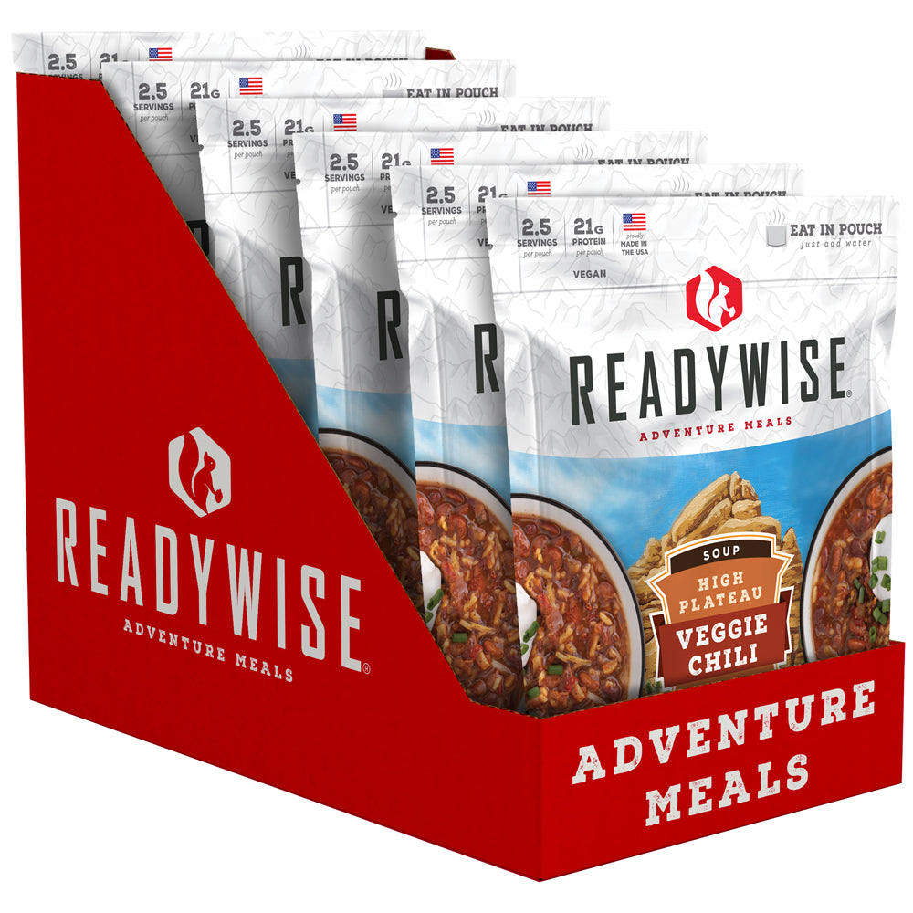 ReadyWise™ High Plateau Veggie Chili Soup - 6 Pack
