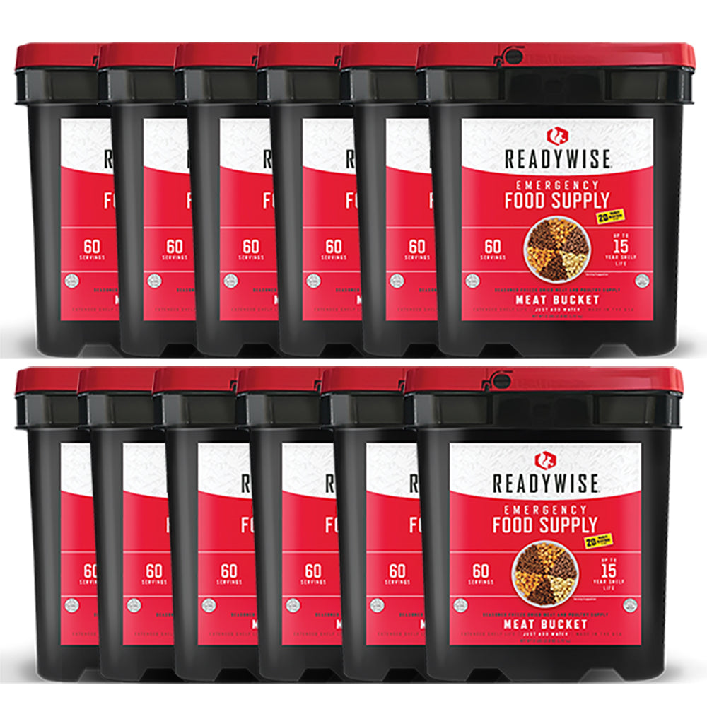 ReadyWise™ Emergency Freeze Dried Meat - 720 Servings