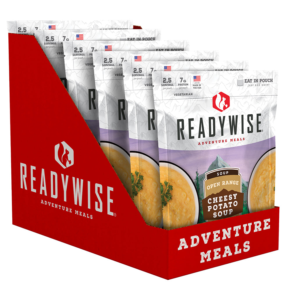 ReadyWise™ Open Range Cheesy Potato Soup - 6 Pack