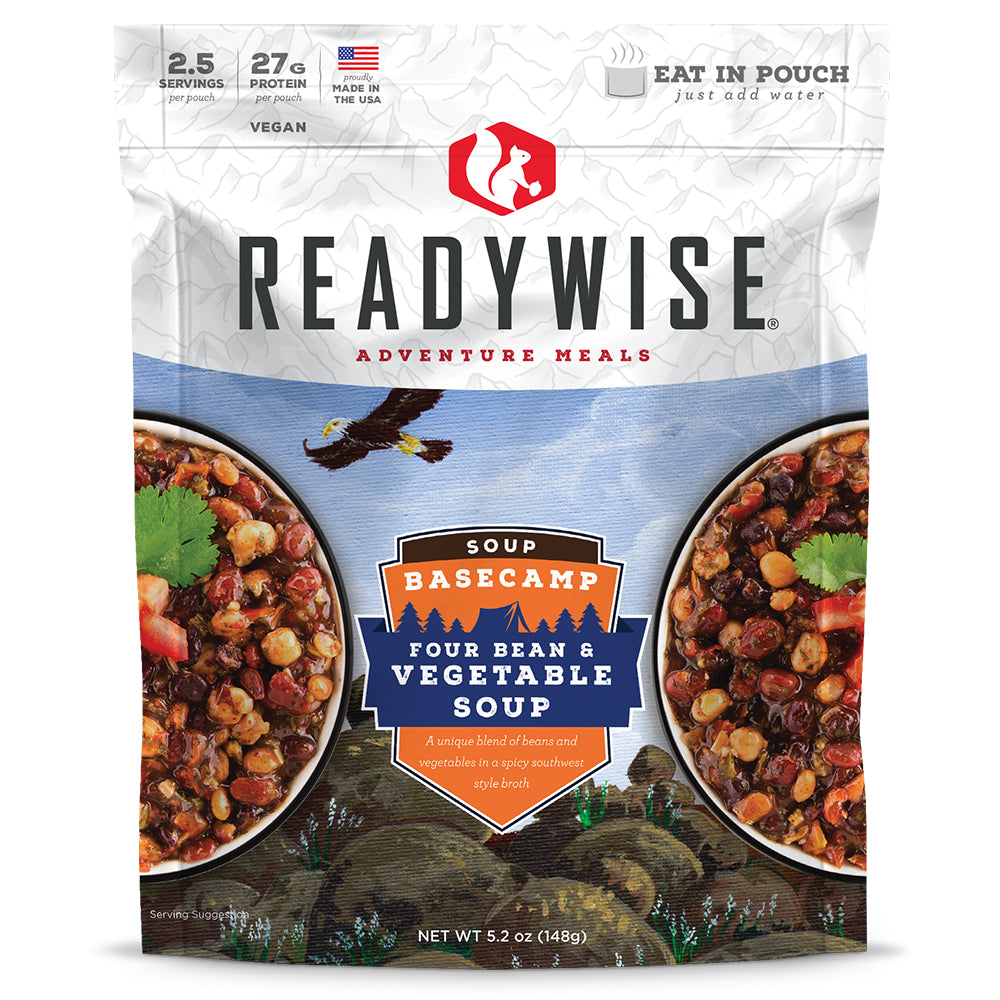 ReadyWise™ Basecamp Four Bean & Vegetable Soup - 6 Pack