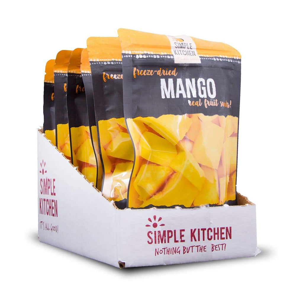 Simple Kitchen Freeze Dried Mango - 6 Pack