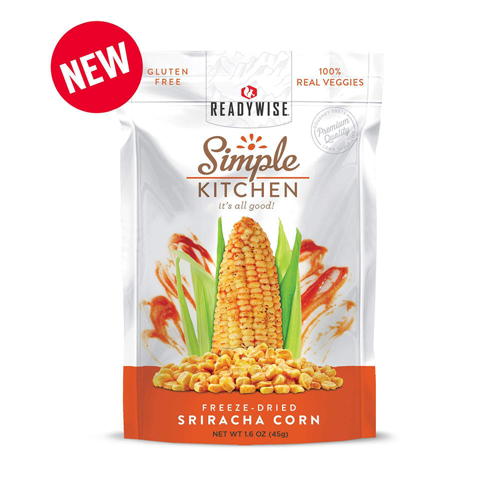 Simple Kitchen Sriracha Corn - 6 Pack