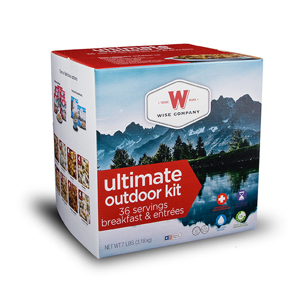 Wise Company Ultimate Outdoor Kit (36 Servings Breakfast and Entrees) - Main