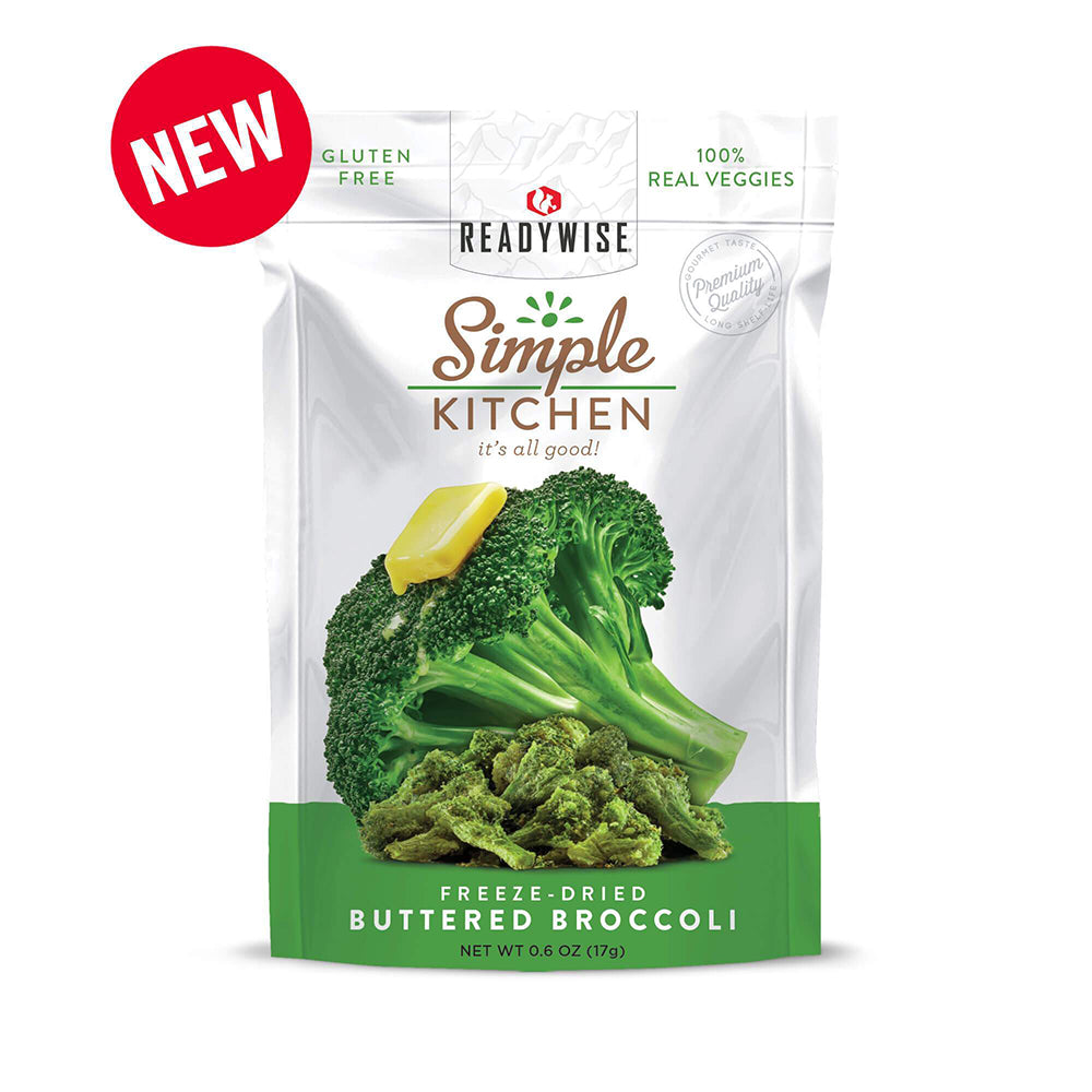 Simple Kitchen Buttered Broccoli - 6 Pack