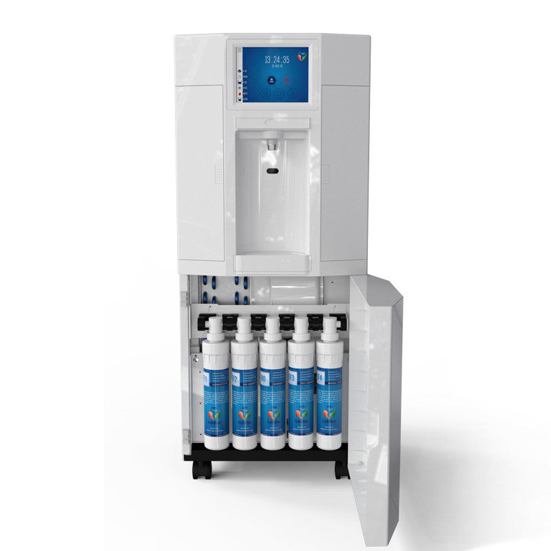 EcoloBlue 30X Maximum Efficiency Atmospheric Water Generator - Angle
