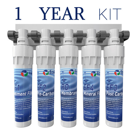 EcoloBlue 30 ME QC - 1 Year Filter Kit