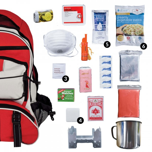 Wise 5-Day Emergency Survival Backpack Kit - Prepper Pack