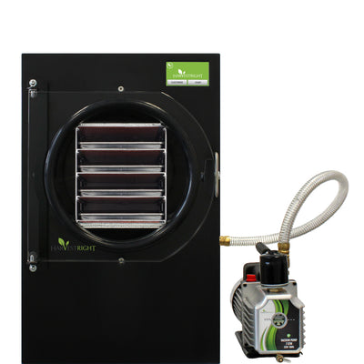 Harvest Right™ Medium Home Freeze Dryer - Black with Oil Pump