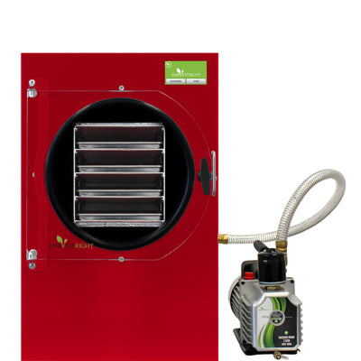 Harvest Right™ Medium Home Freeze Dryer - Red with Oil Pump