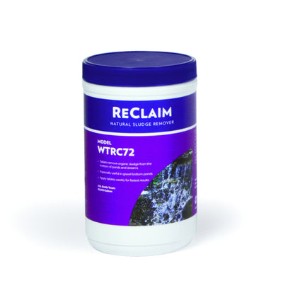 Reclaim - Natural Sludge Remover - 72 Tablets