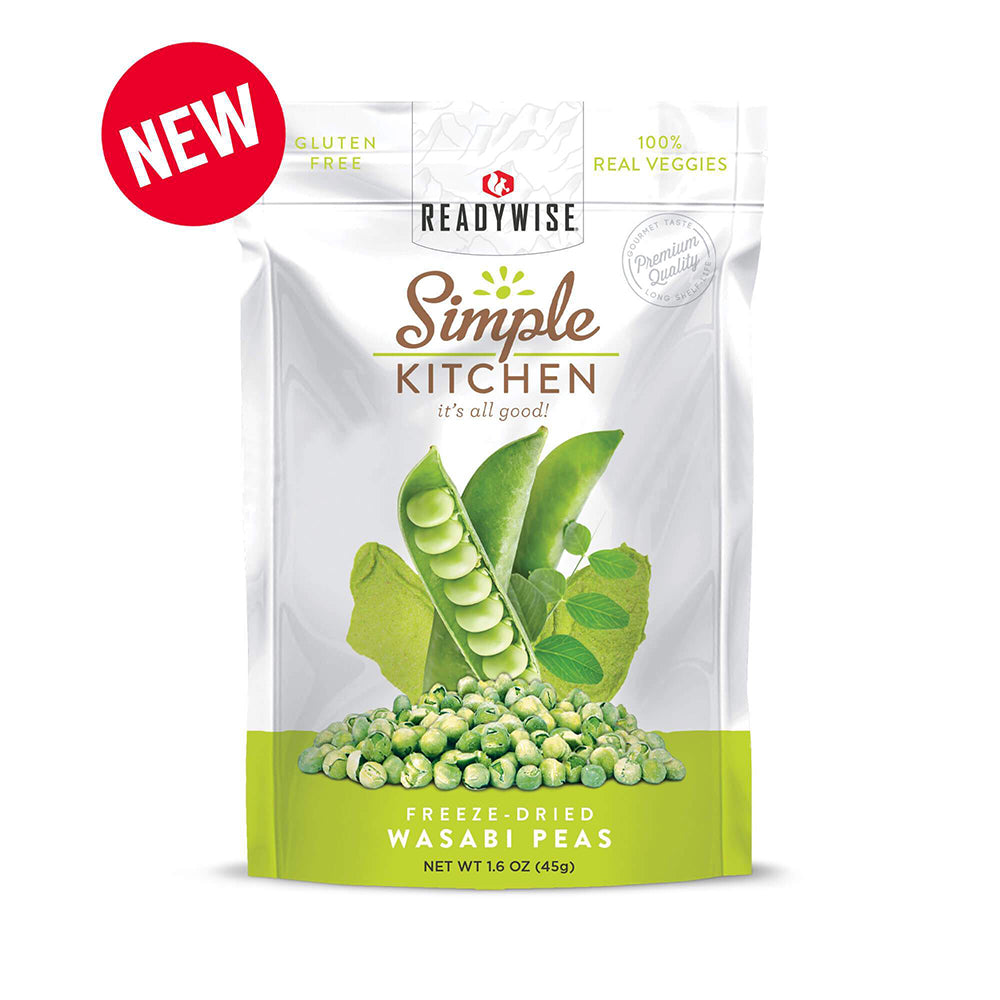Simple Kitchen Wasabi Peas - 6 Pack