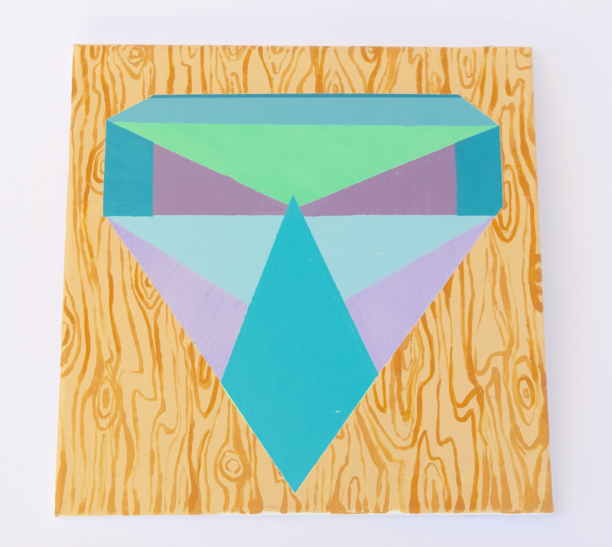 Woodgrain Diamond Painting