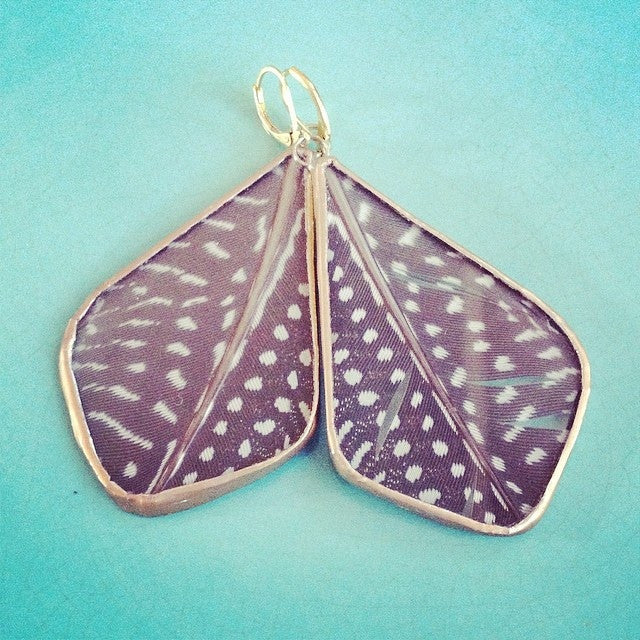 Feather Tear Earrings