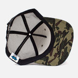 Crowder 'Feed & Supply' Trucker Hat - Camo - Inside