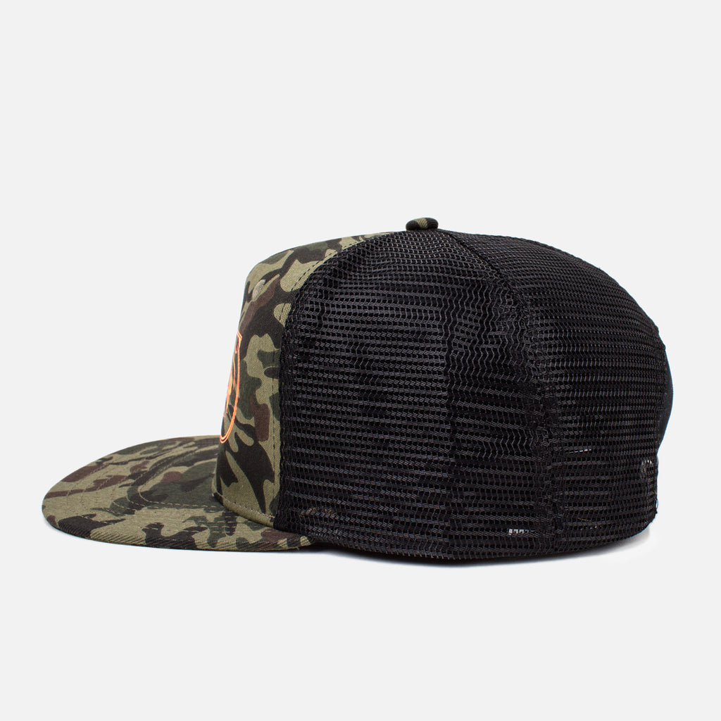 'Feed & Supply' Trucker Hat - Camo