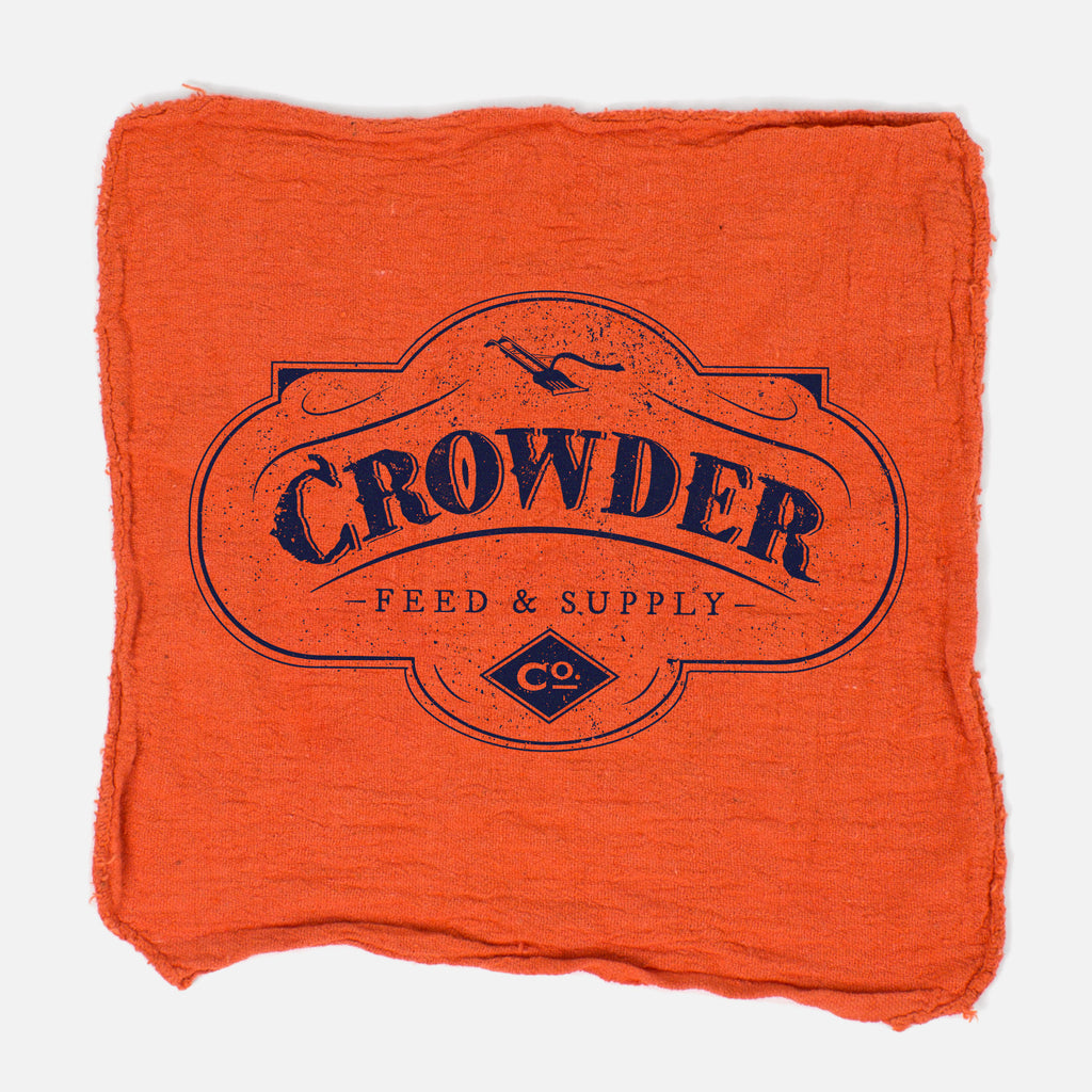'Feed & Supply' Shop Rag