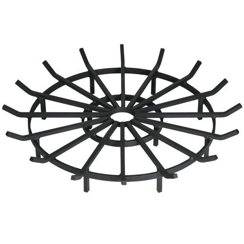 40 Inch Heavy Duty Wagon Wheel Fire Pit Grate