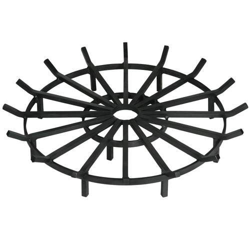 40 Inch Super Heavy Duty Wagon Wheel Fire Pit Grate