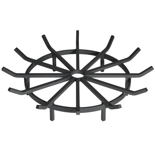 28 Inch Heavy Duty Wagon Wheel Fire Pit Grate