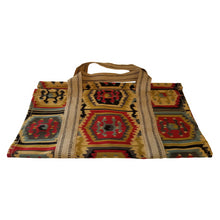 26 Inch Heavy Duty Cotton Log Tote - Aztec