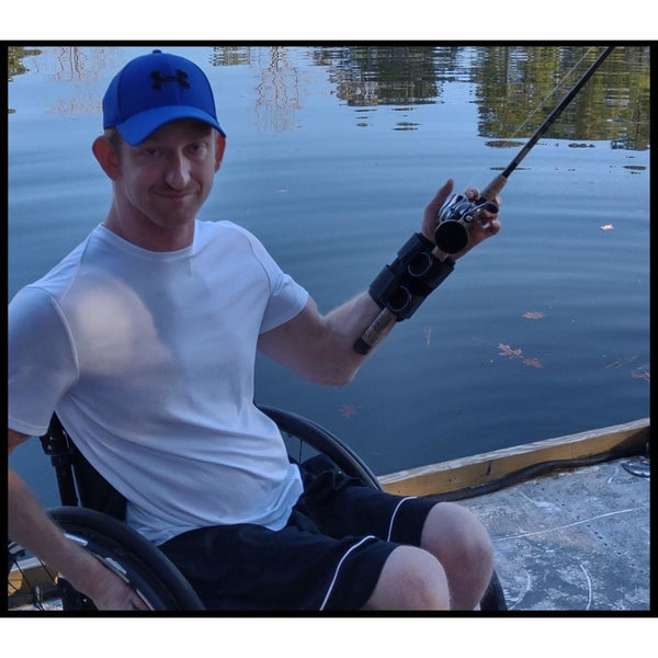 ADAPTIVE FISHING KIT WITH ABLE ARM