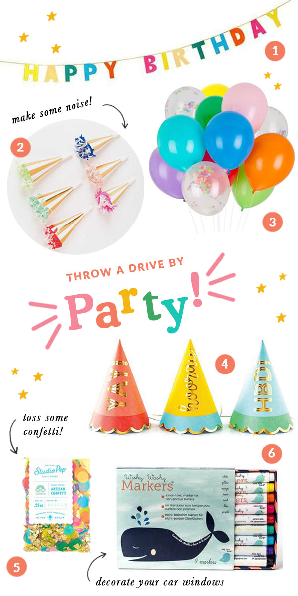 Quartine Birthday | Birthday Parade | Drive By Birthday Party | Covid Party Ideas