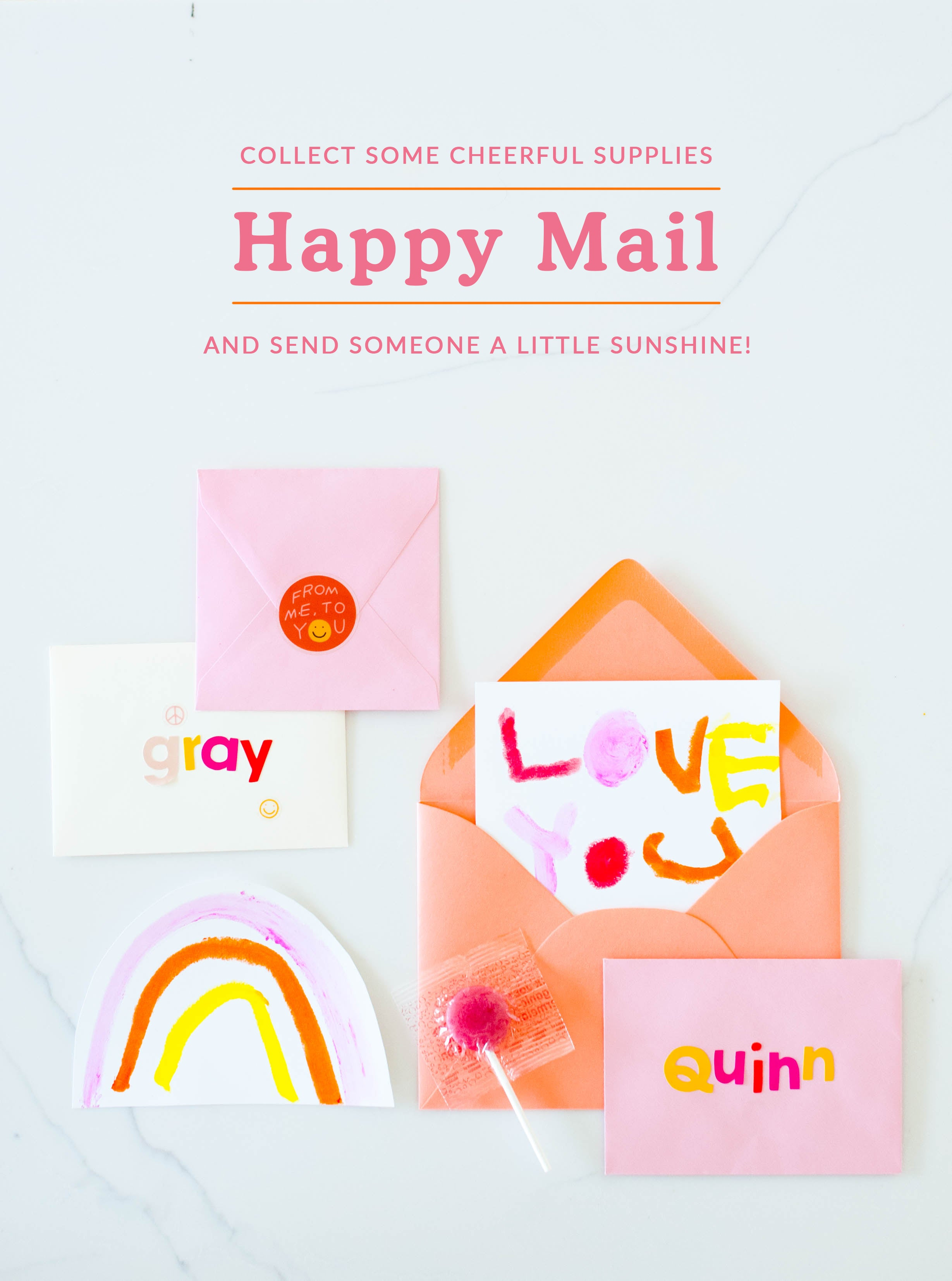 Happy Mail | Washi Tape | Stationery | Letters