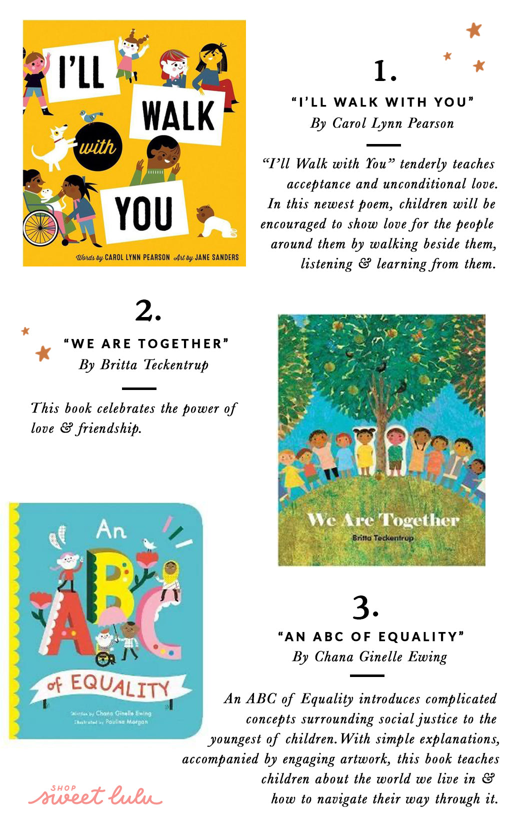 Kids Books On Inclusivity and Kindness