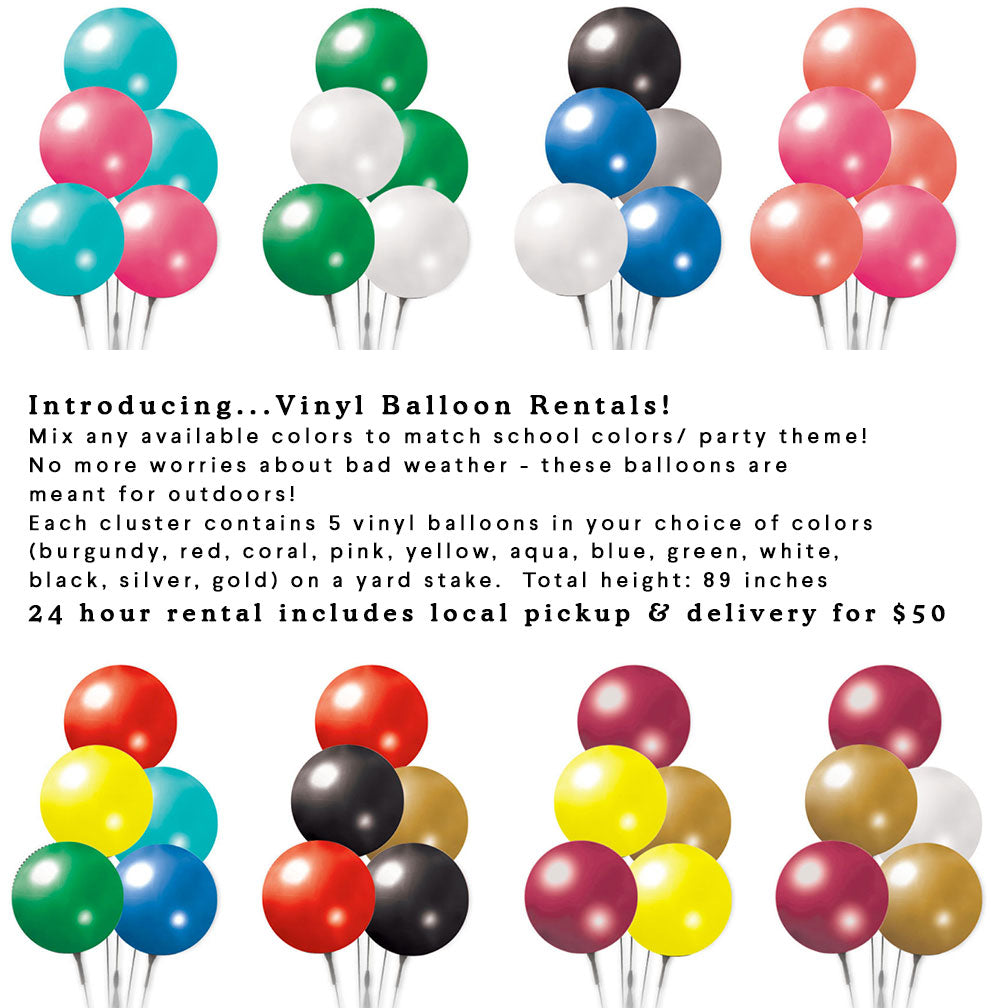 outdoor balloon rentals
