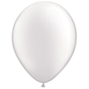 "11"" Latex Balloon, Diamond Clear"