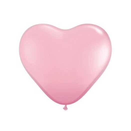 "11"" Heart Balloon, Ballerina Pink available at Shop Sweet Lulu"
