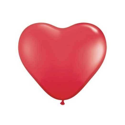 "11"" Heart Balloon, Red available at Shop Sweet Lulu"
