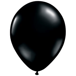 "11"" Latex Balloon, Onyx Black"