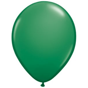 "11"" Latex Balloon, Jewel Emerald Green available at Shop Sweet Lulu"