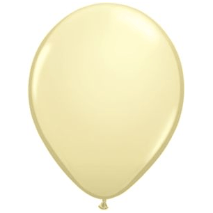 "11"" Latex Balloon, Ivory available at Shop Sweet Lulu"