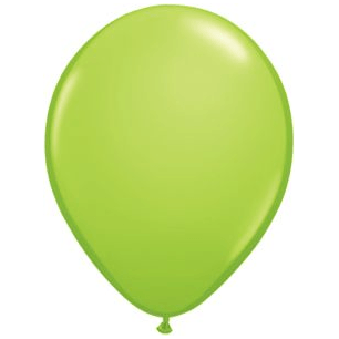 "11"" Latex Balloon, Lime Green available at Shop Sweet Lulu"