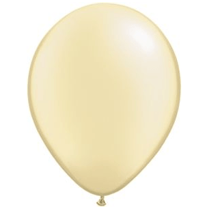 "11"" Latex Balloon, Ivory Pearl available at Shop Sweet Lulu"