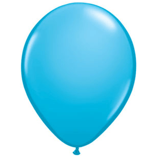 "11"" Latex Balloon, Sky Blue"